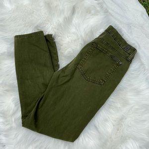 7FAM Olive Green Pants
